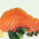 Cold Smoked Organic Norwegian Salmon: Plain 4oz.